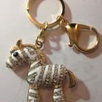 Porte clef doré